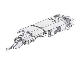 Angry Piggy GunShip by Angryspacecrab