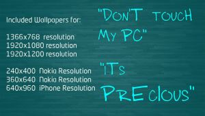Don't Touch My PC by CompBomb