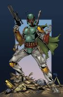 Boba Fett colors by seanforney