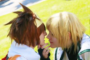 Saiyuki: Monkey kisses by SugarBunnyCosplay