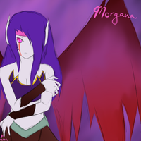League of Legends: Morgana the Fallen Angel by TheMuteMagician