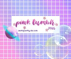 +Pink Tumblr | PNG by ISatQuietly