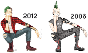 The Evolution of the Punk Croissant by MissRoxieGraves