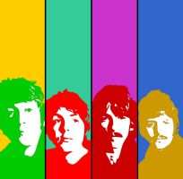 The Beatles: Colors by lichtstadt