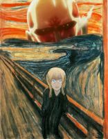 The Scream: Armin's turn by Willsdarklady