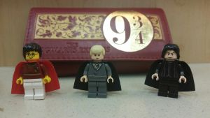 Harry Potter Lego figures by WanNyan