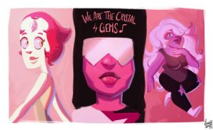 The Crystal Gems by Ivanobich