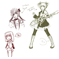 SP+Vocaloid Sketch Dump 1 by Cheese3D