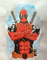 Deadpool by diduseevc
