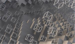 Cubes and stairs by wtdx