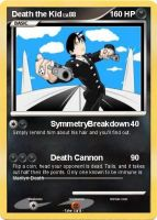 Death the Kid, Pokemon Card by anime-artist-love