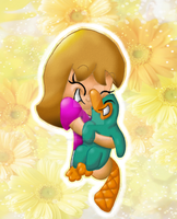 Take time to smell the flowers~ by Leilani-Lily