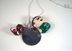 Sheldon Cooper Charm Necklace by sweet-geek