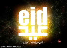 Eid Card IX by Teakster