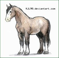 09. Clydesdale by KJL90