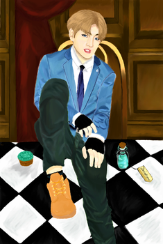 Jungkook in Wonderland by Anime-Wolf35