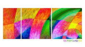 freeabstractWatercolor by love1008
