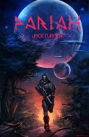 Live Project: pariah novel cover by n2c