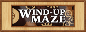 Wind-Up Maze Logo by istudio327