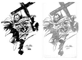 Gene Colan Dracula Inks by urban-barbarian