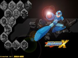 Mega Man X Wallpaper by puertorican12187