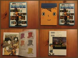 Professor Layton and the Eternal Diva Film Comic 1 by BenjaminHunter