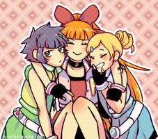Powerpuff Girls Z by akinez