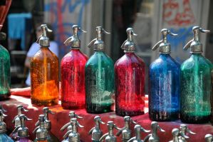 Water bottles by NB-Photo