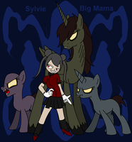 Sylvie and Big Mama (ID) by TheSpiderManager