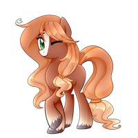 New earth Pony Oc by Le-Poofe