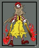 The Legend of Mickey D - RONALD by TheDeviantArchitect