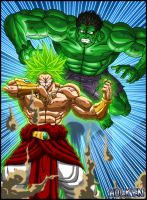 Rage VS Rage by DBZwarrior