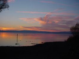 Photo: Sunset Over Clear Lake by AskGriff