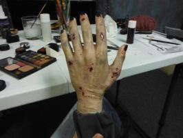 Zombie hand by MorningGlory34