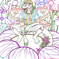 .:The Florist:. - Lines by SassyRaptor