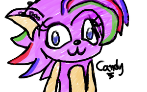 Candy the Hedgehog. by Chibi-Mars-Jane