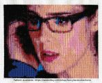 Felicity Smoak - Arrow Cross Stitch by lailarshid