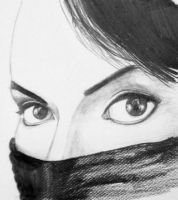 Michael Jackson 's Eyes by szucia