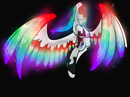 Rainbow Wings. by kim-306