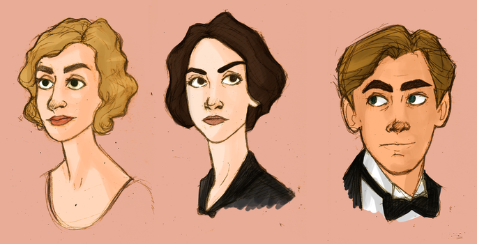 downton babes by effleur
