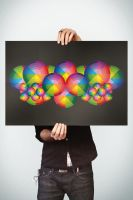 The Color Symmetry by Lemongraphic