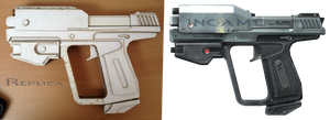 Halo Reach M6G Magnum WIP by xxLuneXx