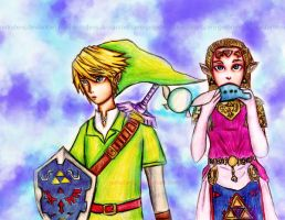 Goodbye Link!! by Gelodevs