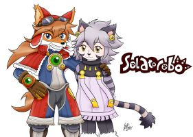 Solatorobo Red The Hunter by RougeBatGirl86