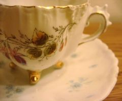 Antique Tea Cup by teawithmrhatter