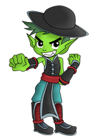 Commission: Beast Boy by BeastGreen