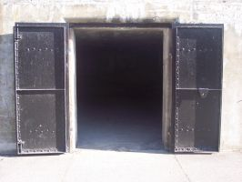 Stock: Fort Casey Tunnel Doors by Stock-By-Michelle