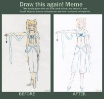 Before and after meme by Saanalle