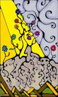 Growing Flowers Playing Card by minishadowlove