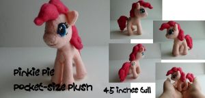 Pinkie Pie Pocket-size Plush by Hyper-piston